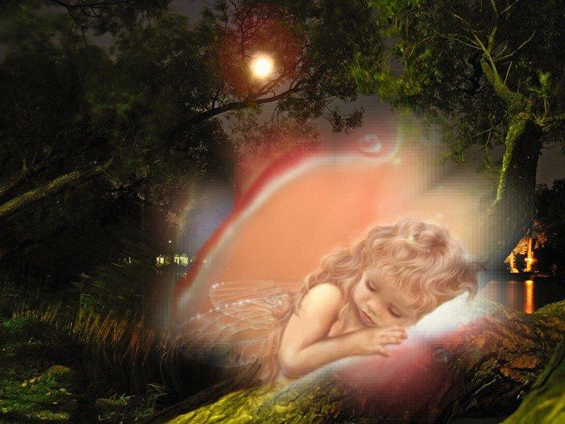 сказ фея спит