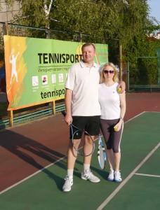 мы на теннисе