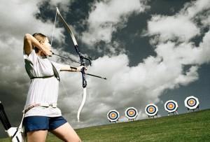 стрельба из лука по целям