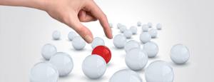 выбор решения шары