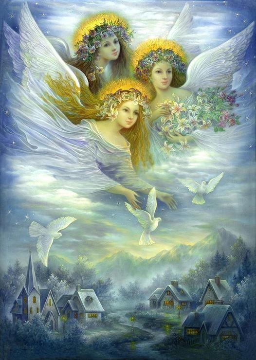Вера надежда любовь и голуби