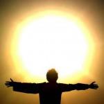 солнце снятие негатива