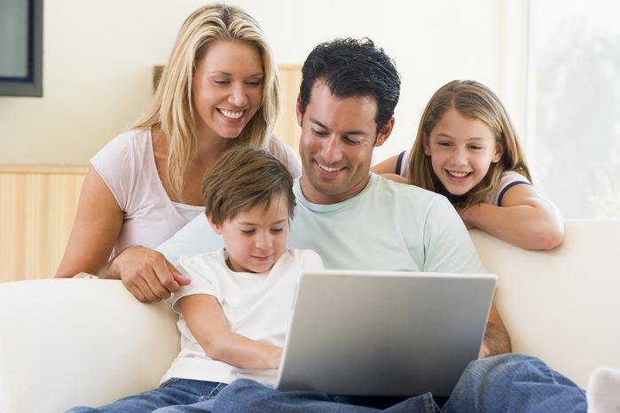 успех и гармоничная семья