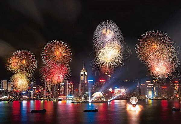 Гонконг-Китайский-Новый-год