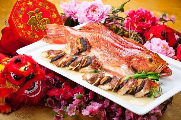 еда в китайский новый год