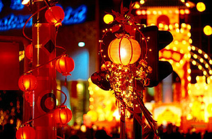 фонари китайские
