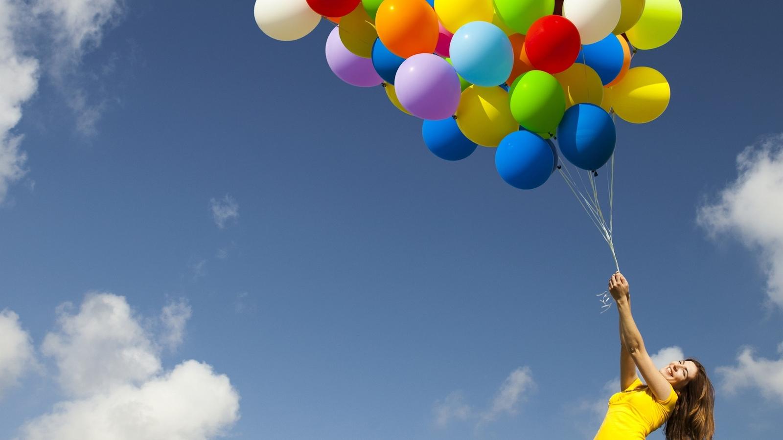 шары в небо