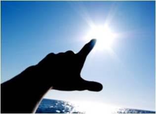 дотянуться до солнца