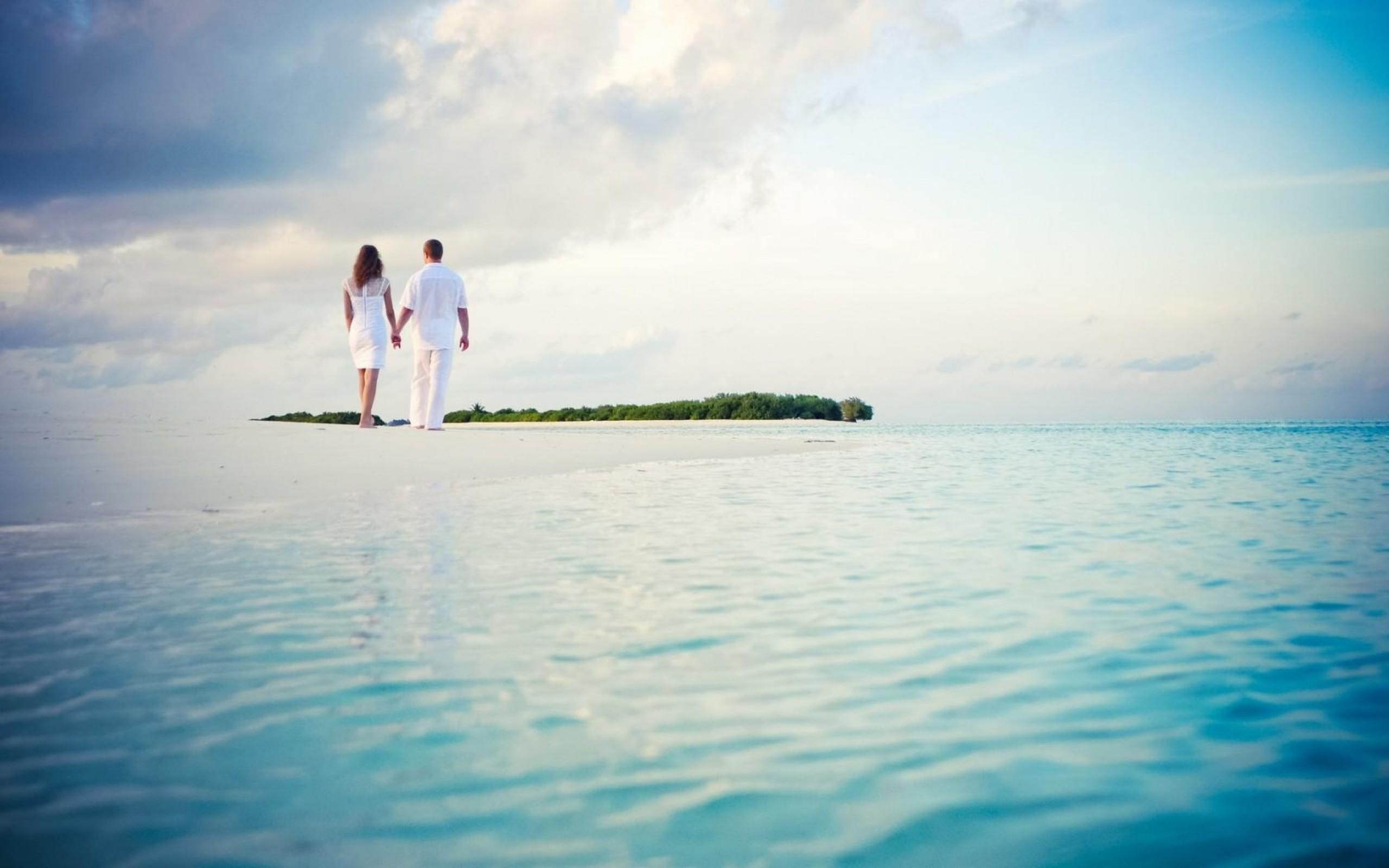 пара на острове