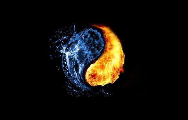 инь-янь вода и огонь