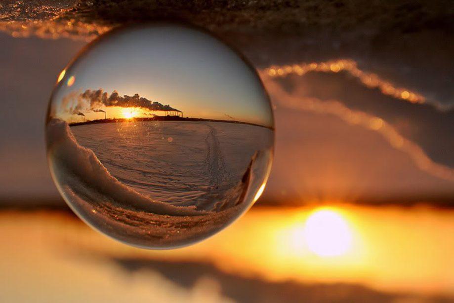 мир в шаре